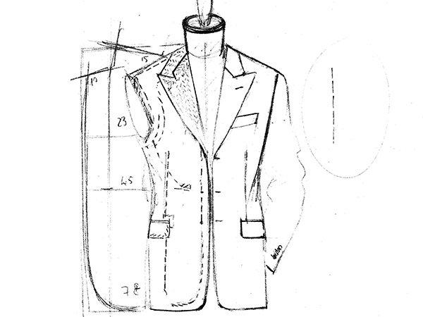Vestito da uomo su misura