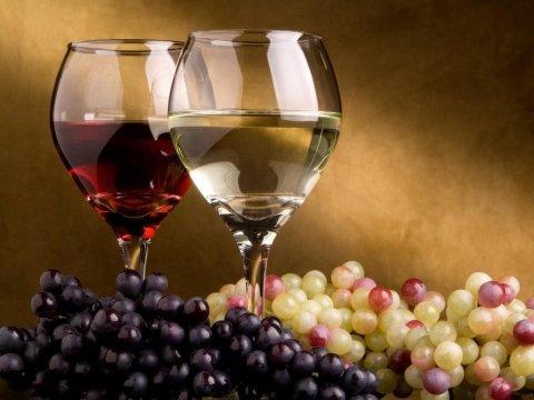 vini bianchi e neri