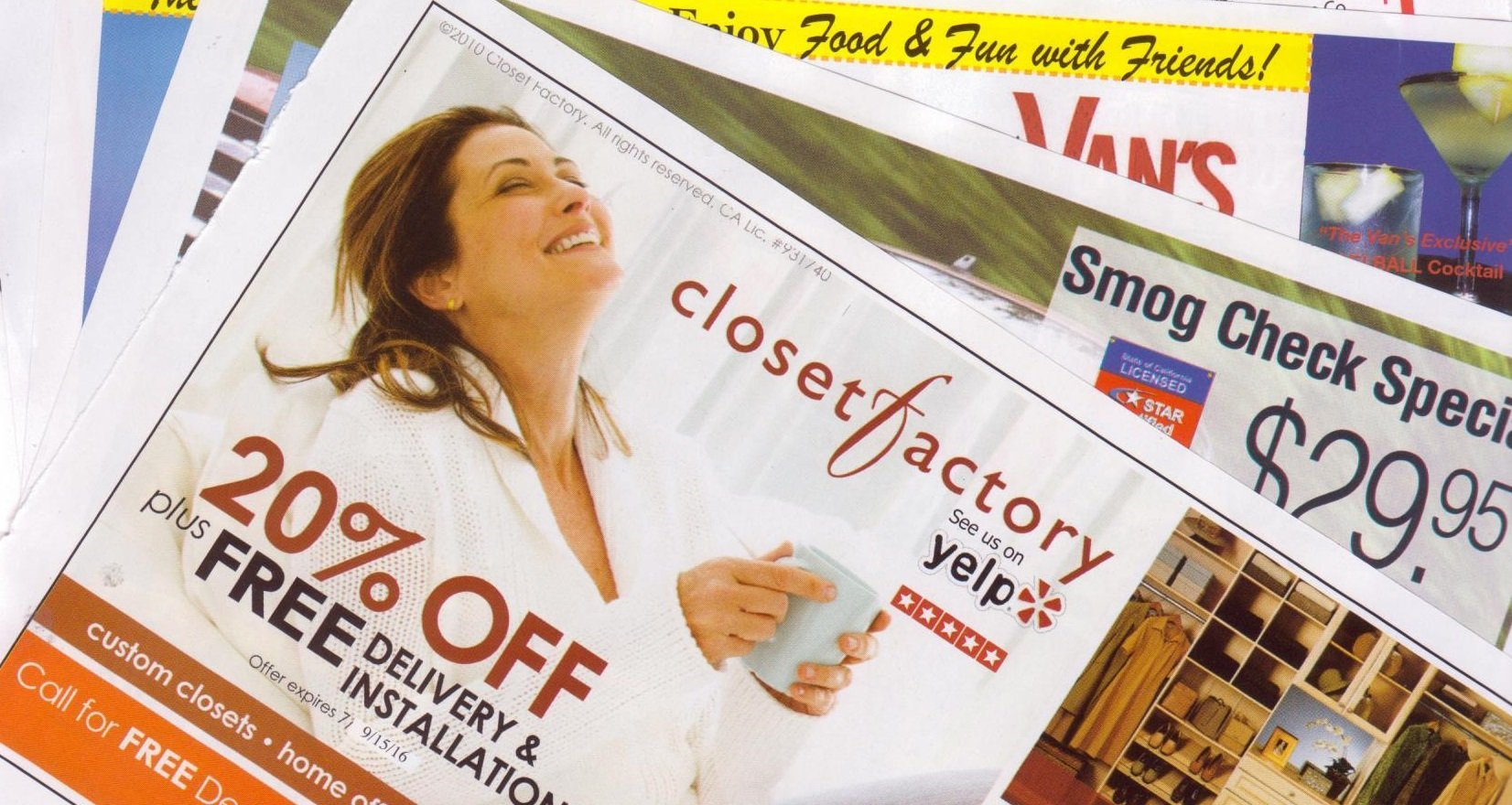 direct mail coupon booklet