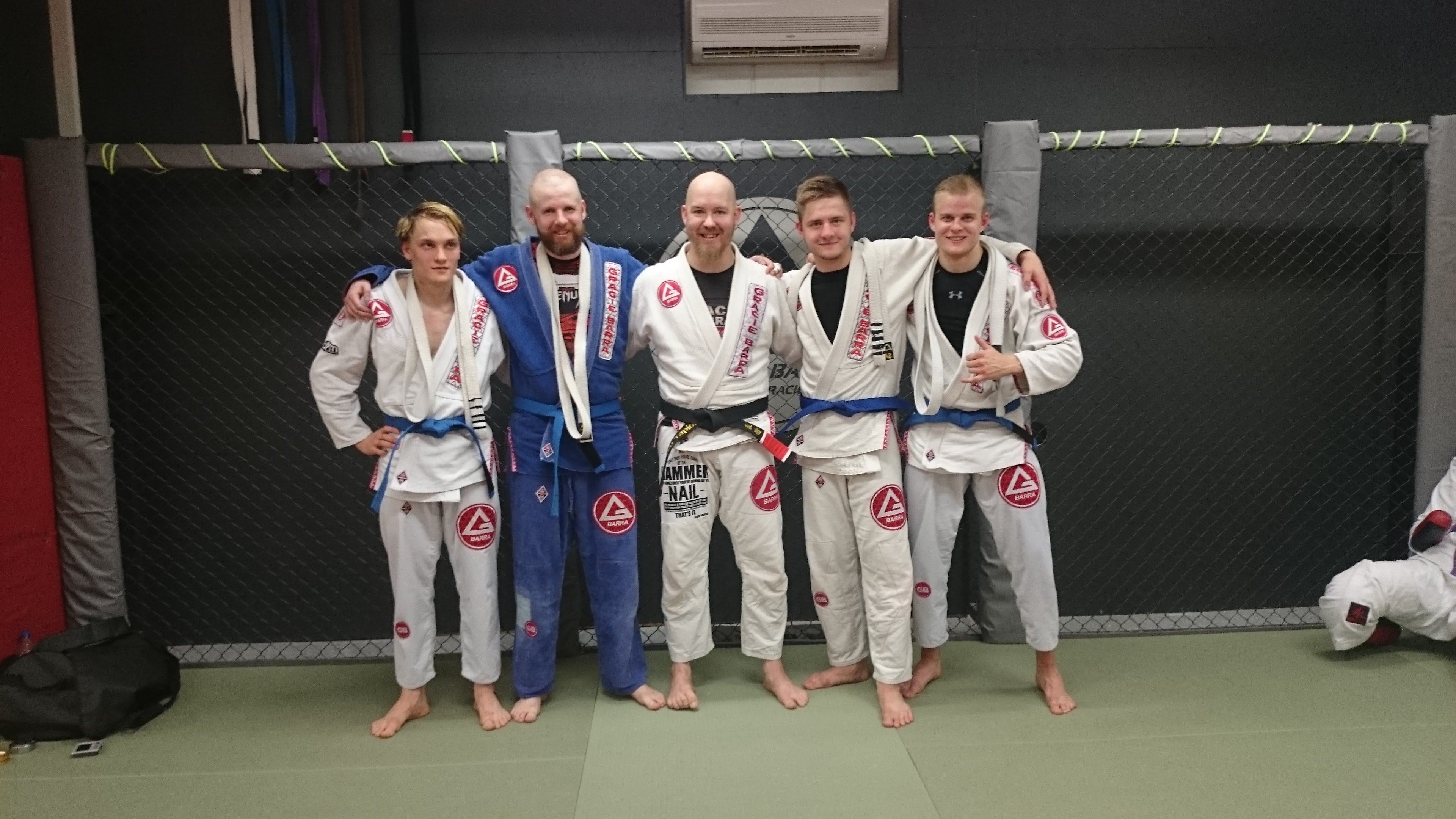 Gracie Barra on perhe