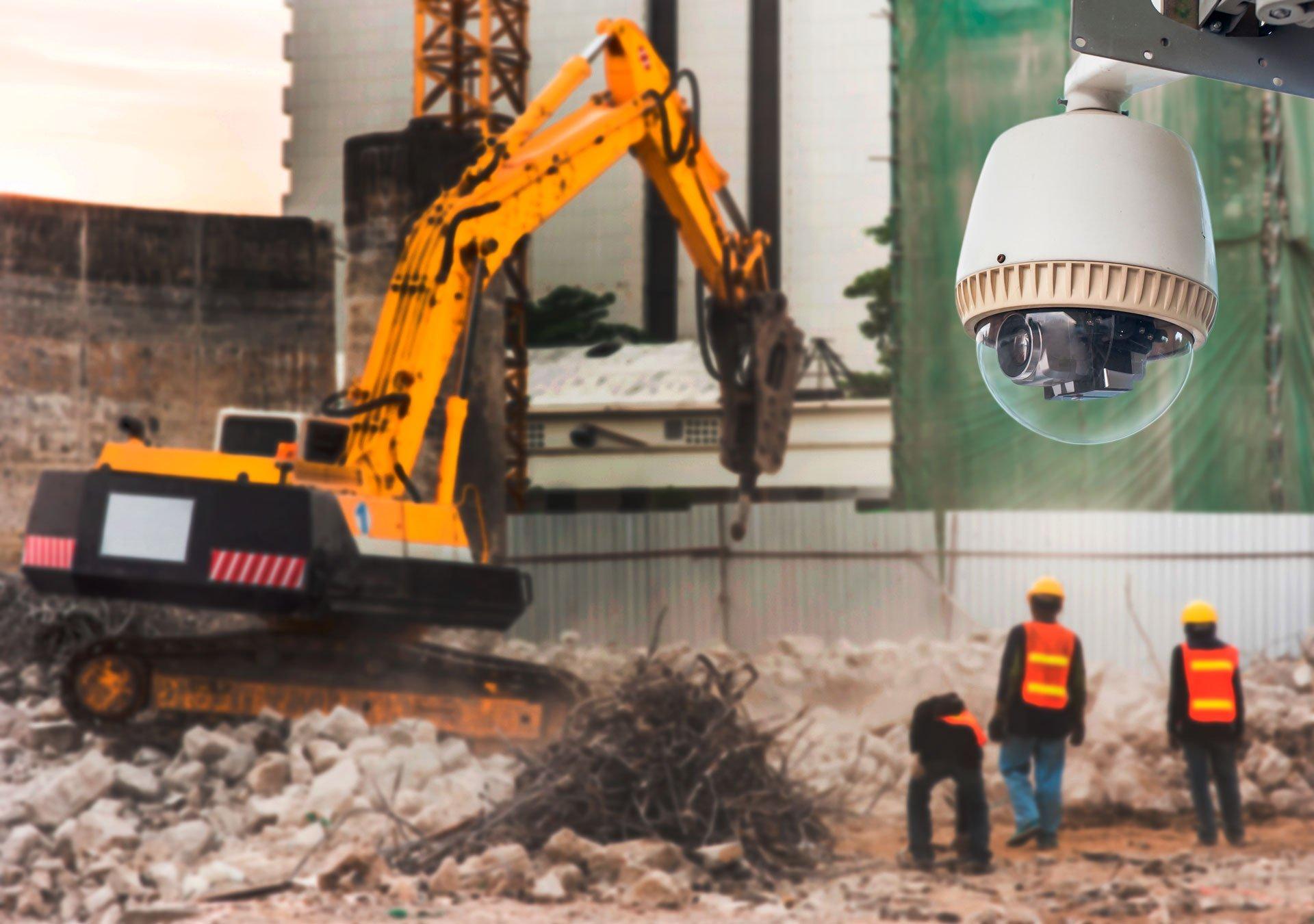 CCVT on construction site