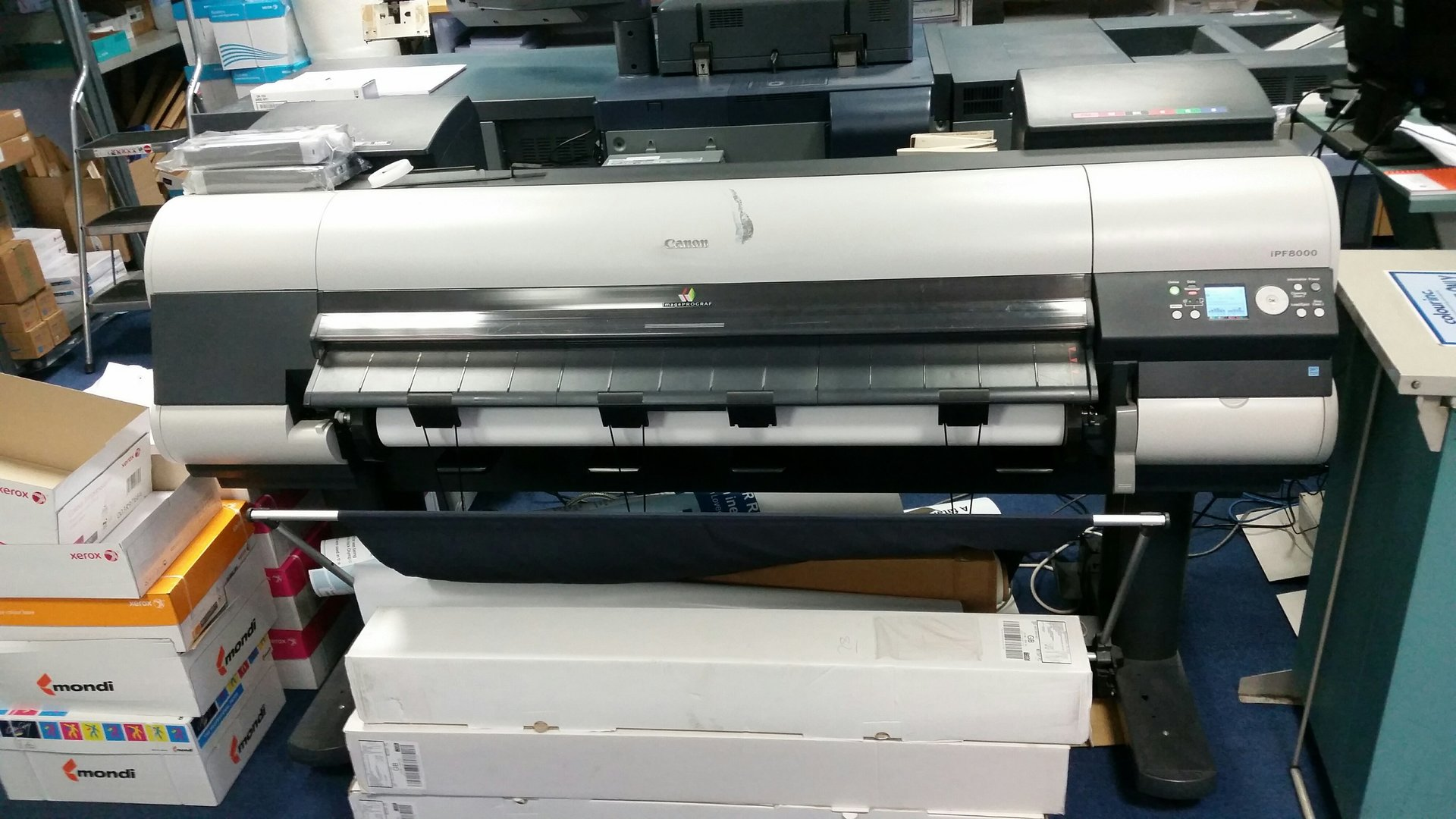 Canon large format printer