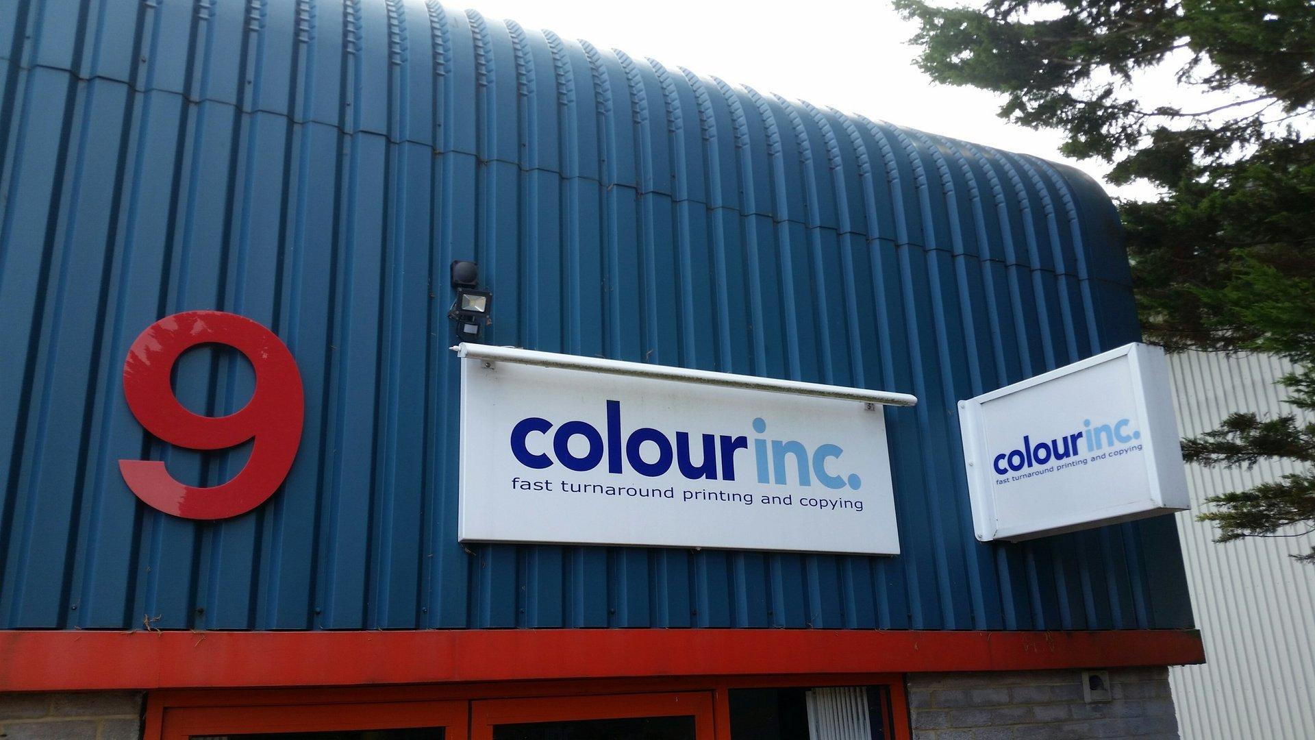 Colour Inc signage