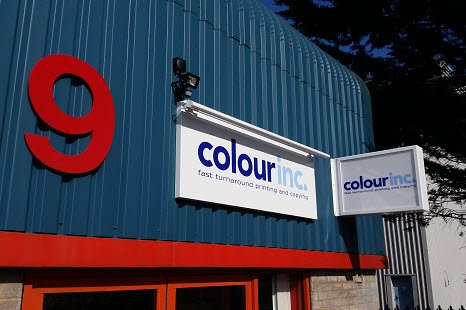 Colour Inc fast turnaround printing, scanning and copying