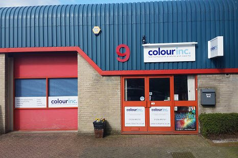Colour Inc Ltd copy and print shop Basingstoke Hampshire