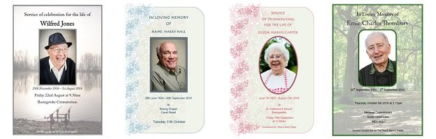 Funeral order of service tempaltes