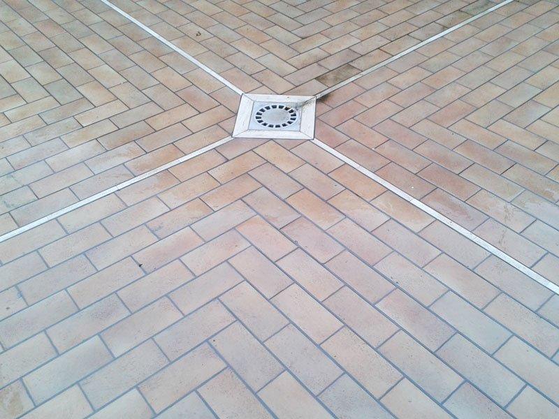 pavimentazione, piastrelle