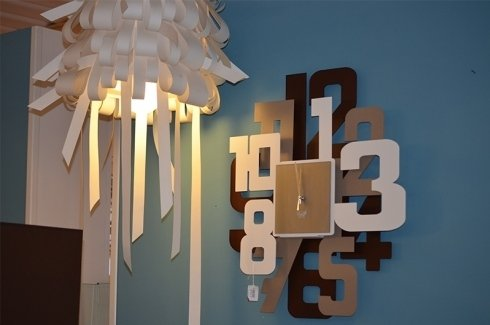 lampadari e orologi a muro