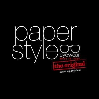 Logo dei Paper Style eyewear,the original