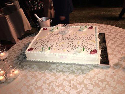 torta per anniversario di matrimonio