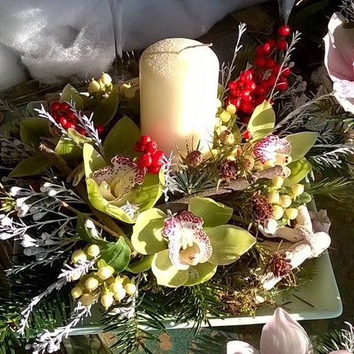 candela natalizia
