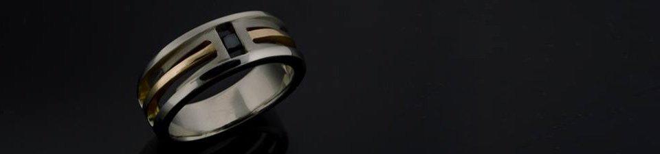 Custom Men's Engagement Ring