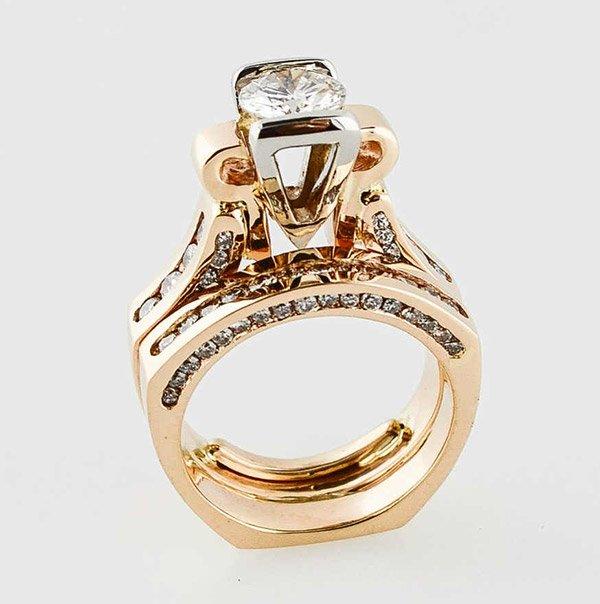 custom wedding ring design