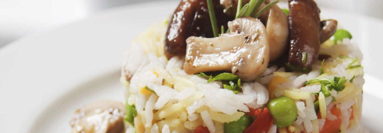 sformato di riso ai funghi