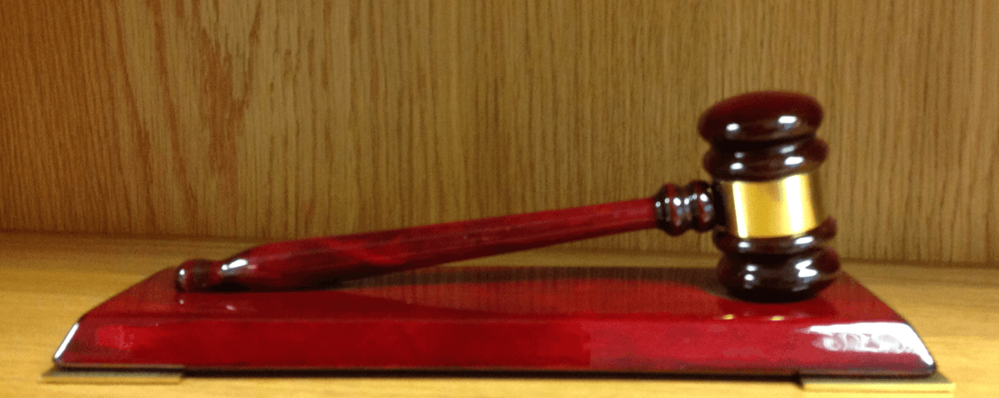 gavel trophy