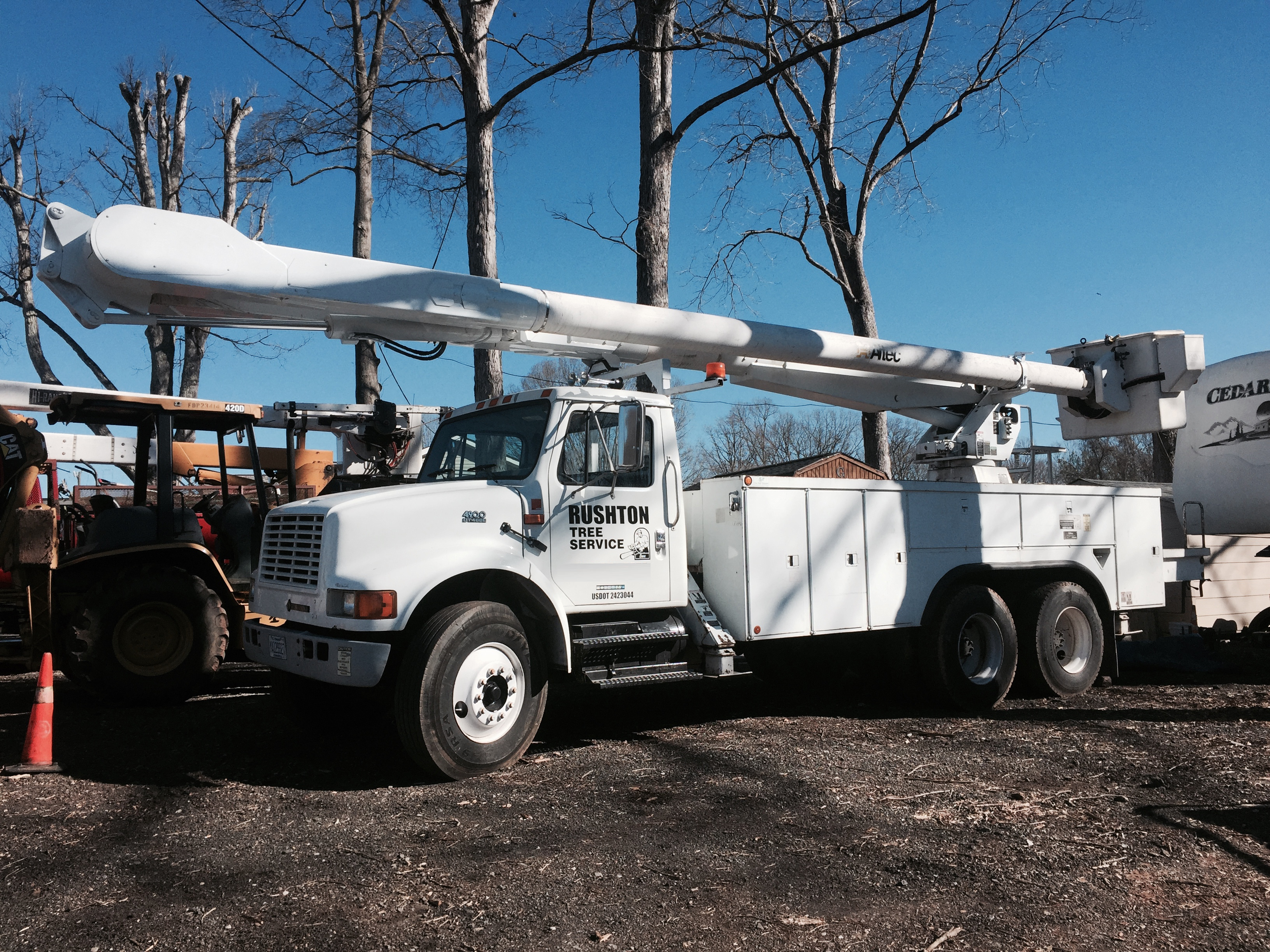Gastonia NC Tree Service Truck