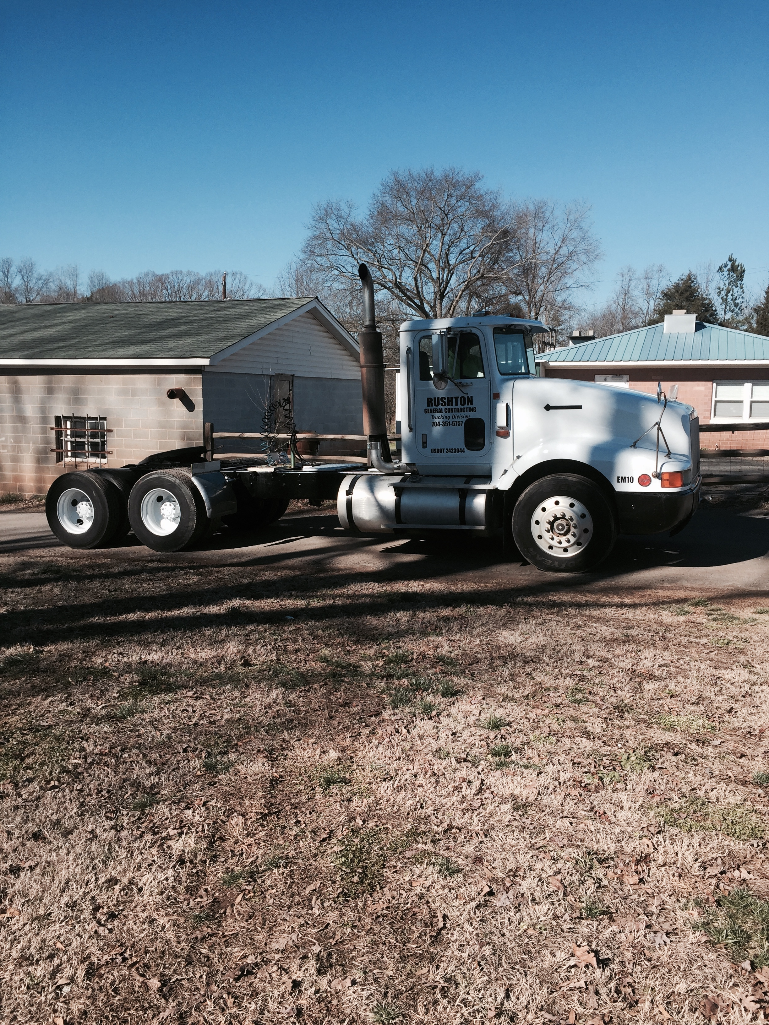 Tree & Hauling Services Truck, Gastonia NC