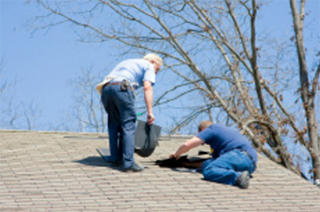 Roofing Repair Contractors on House, Gastonia NC