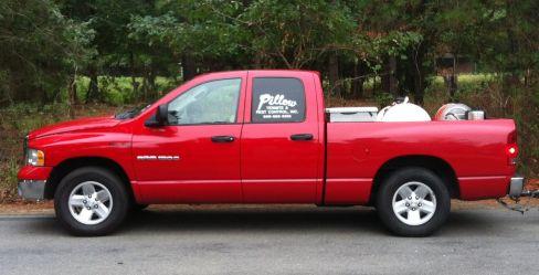 pillow truck