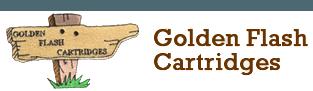 golden flash cartridges logo