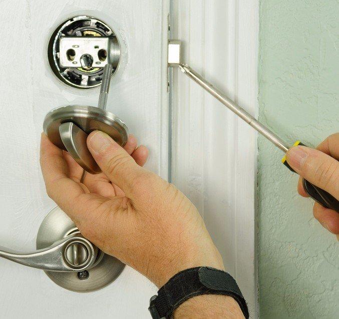 Fairfax lock and key
