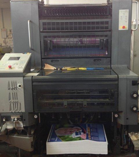 macchina stampa off set