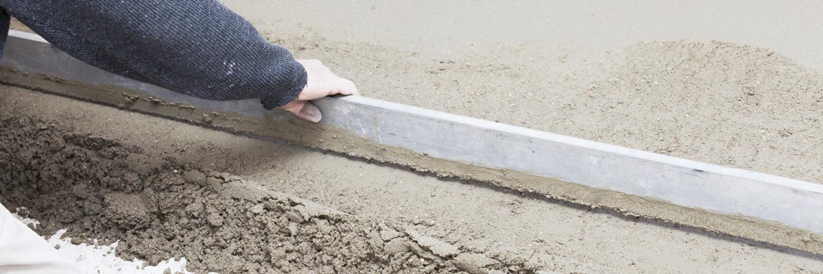 cont tek integrate services leveling cement screed