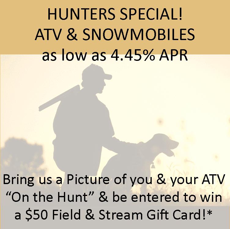 ATV special rates