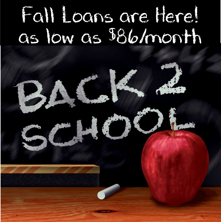back to school credit union loans