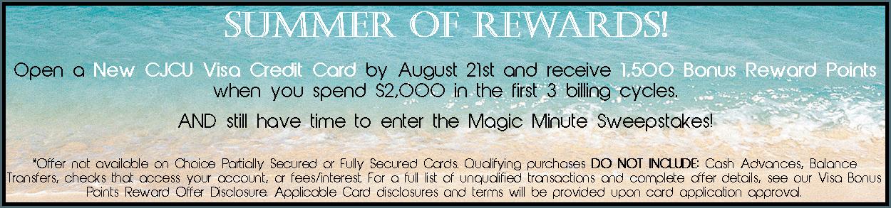 corry credit union, credit card, rewards