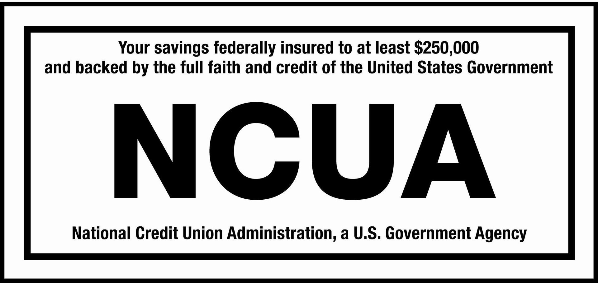 Federally Insured by NCUA. Logo