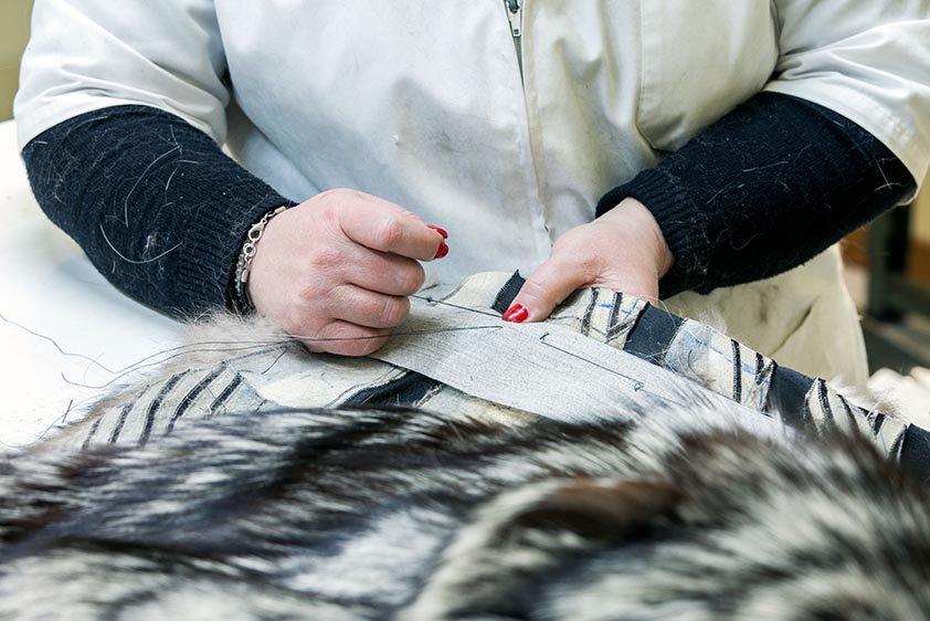 Pellicce per donna artigianali
