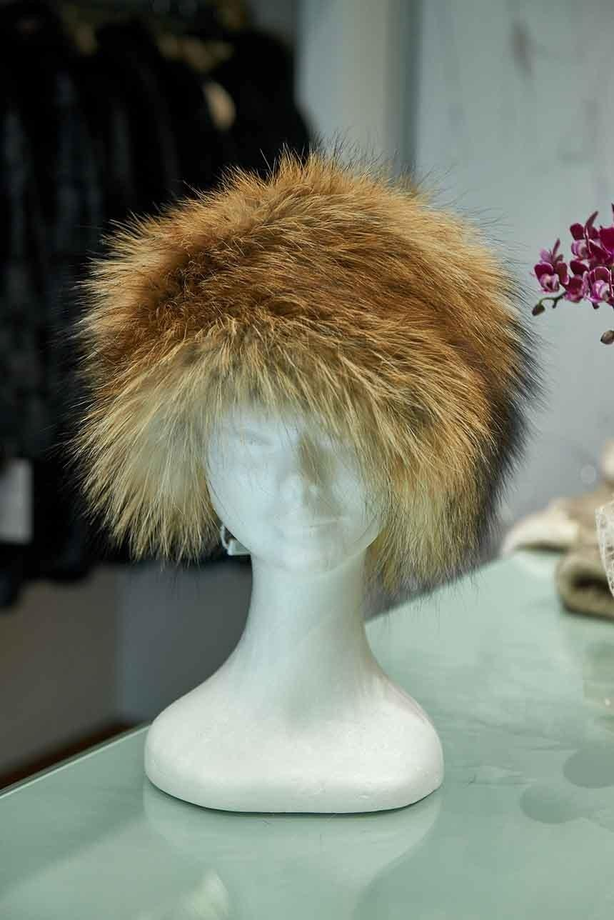 Cappello donna in pelliccia naturale
