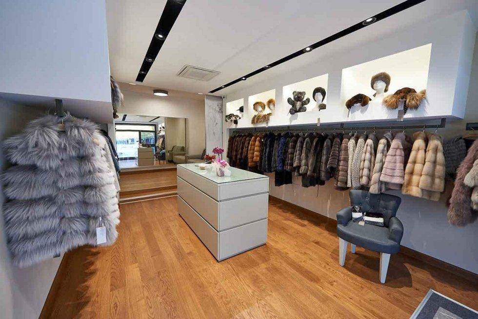 Boutique pellicce naturali per donna