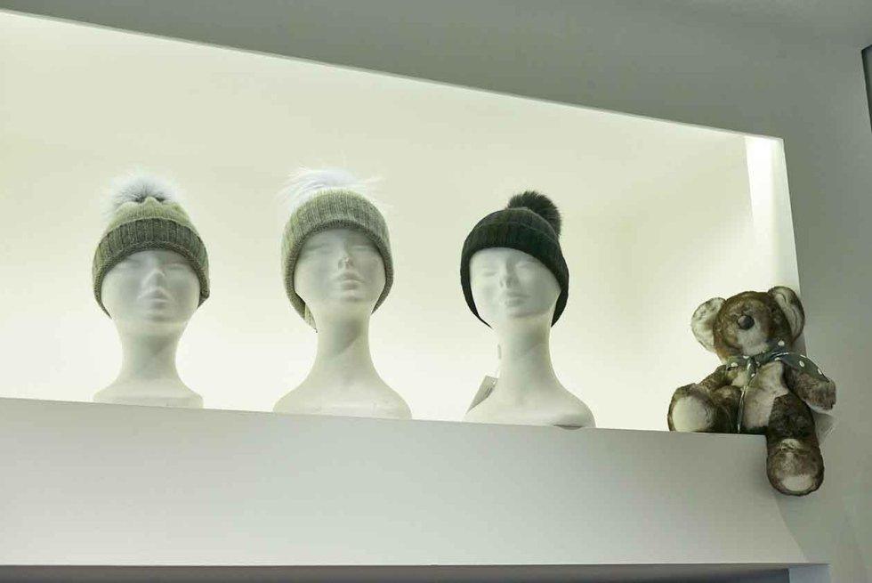 Cappelli per donna con pelliccia naturale