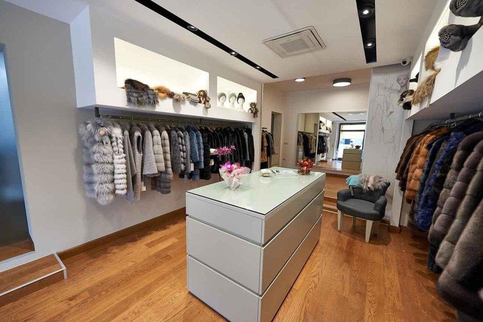 Boutique pellicce per donna