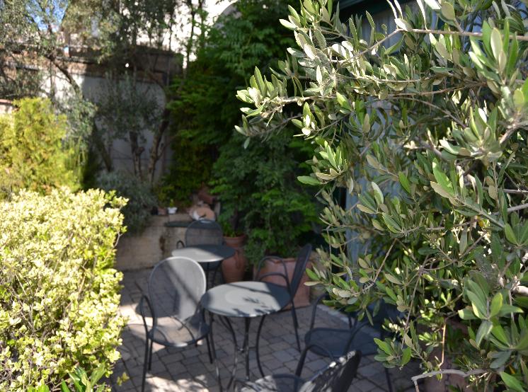 Hotel I' Fiorino-Angolo relax esterno