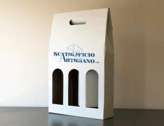 scatole personalizzate per bottiglie vino