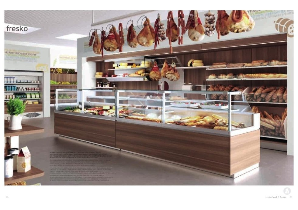 Arredamento panificio urbinatius old bakery with for Arredamento gastronomia usato
