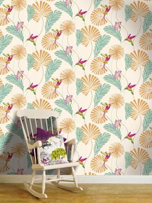 Wallpapering for Statement wallpaper living room