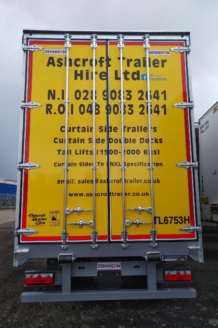 ffe3f47fe3 Articulated trailer hire Northern Ireland by Ashcroft Trailer Hire Ltd