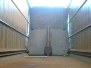 Steel barn doors