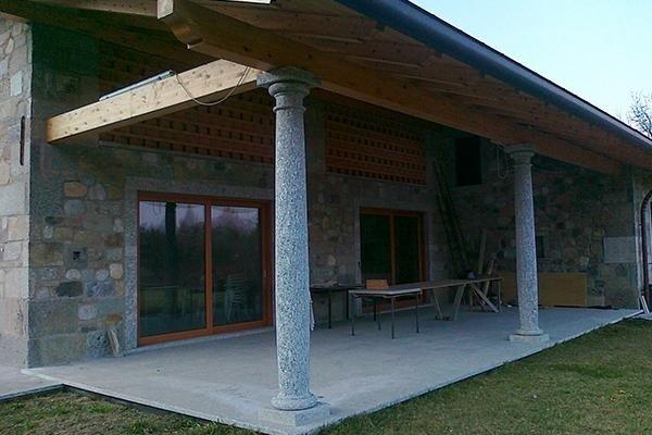 colonne granito