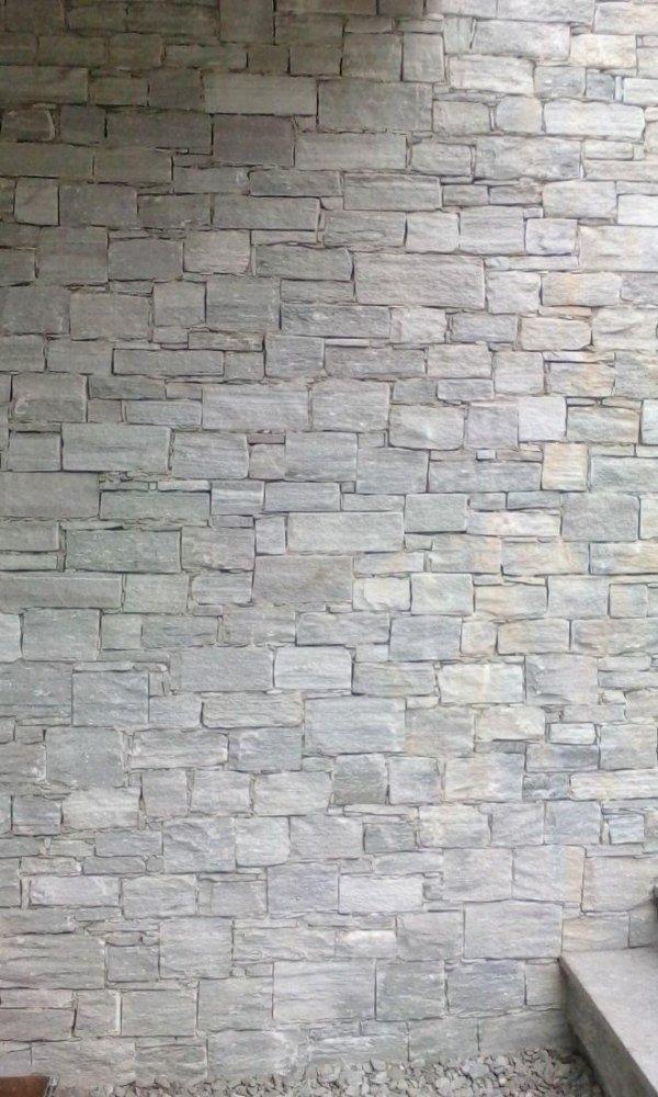 Muro in quarzite