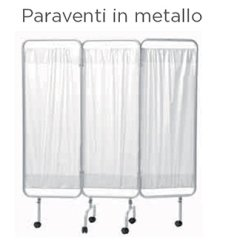 Paravento in metallo