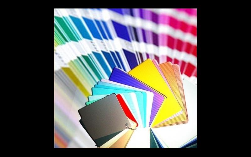 campionature per colori