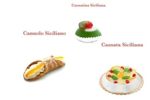 Dolci tipici siciliani.