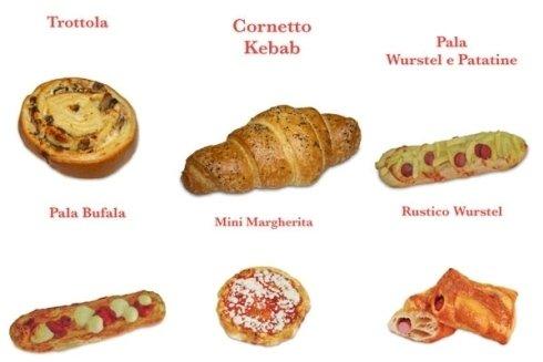 Pizze e rustici.