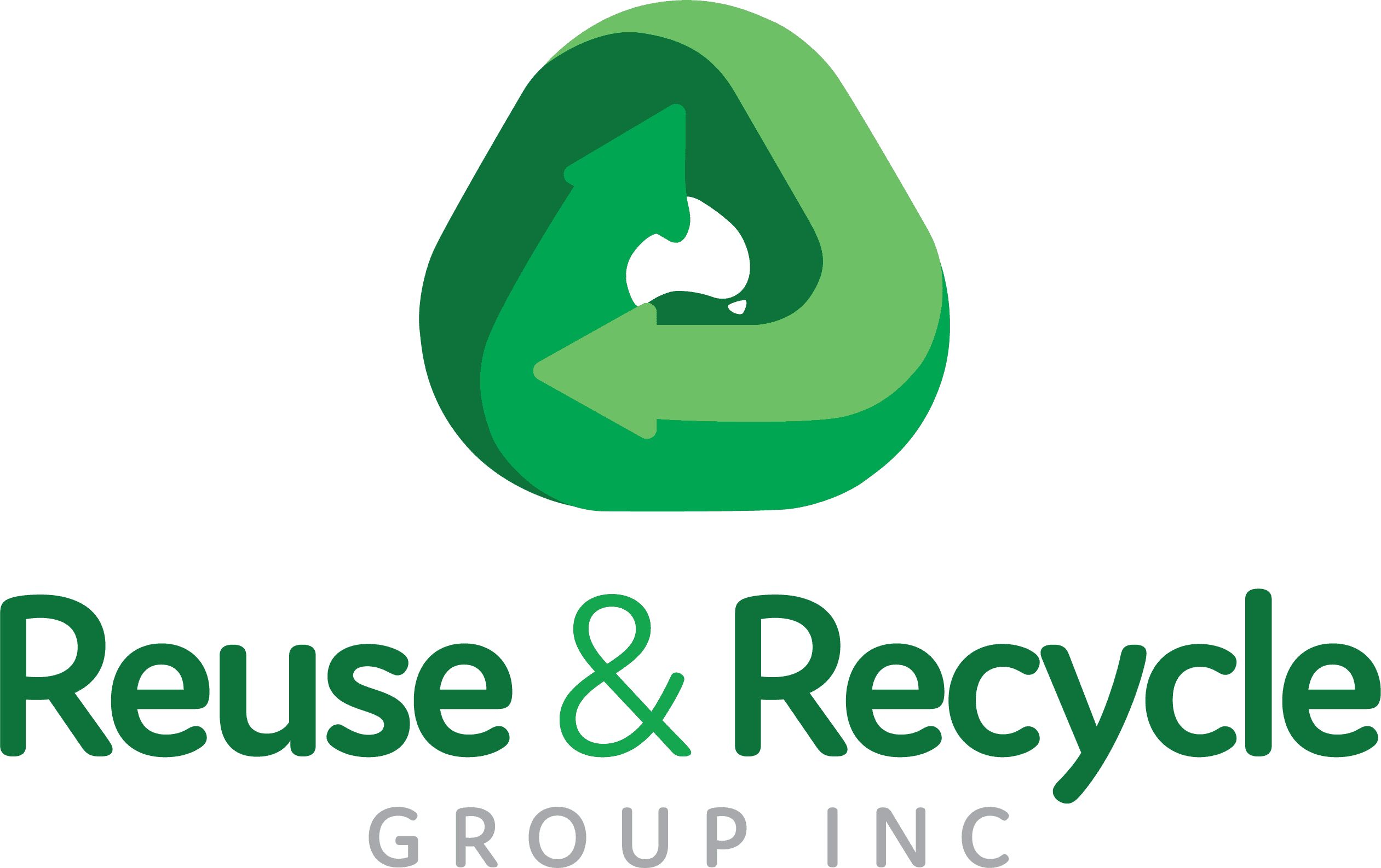 Reuse, Recycle & Community Recycle logo