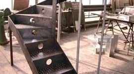 costruzione scale in metallo